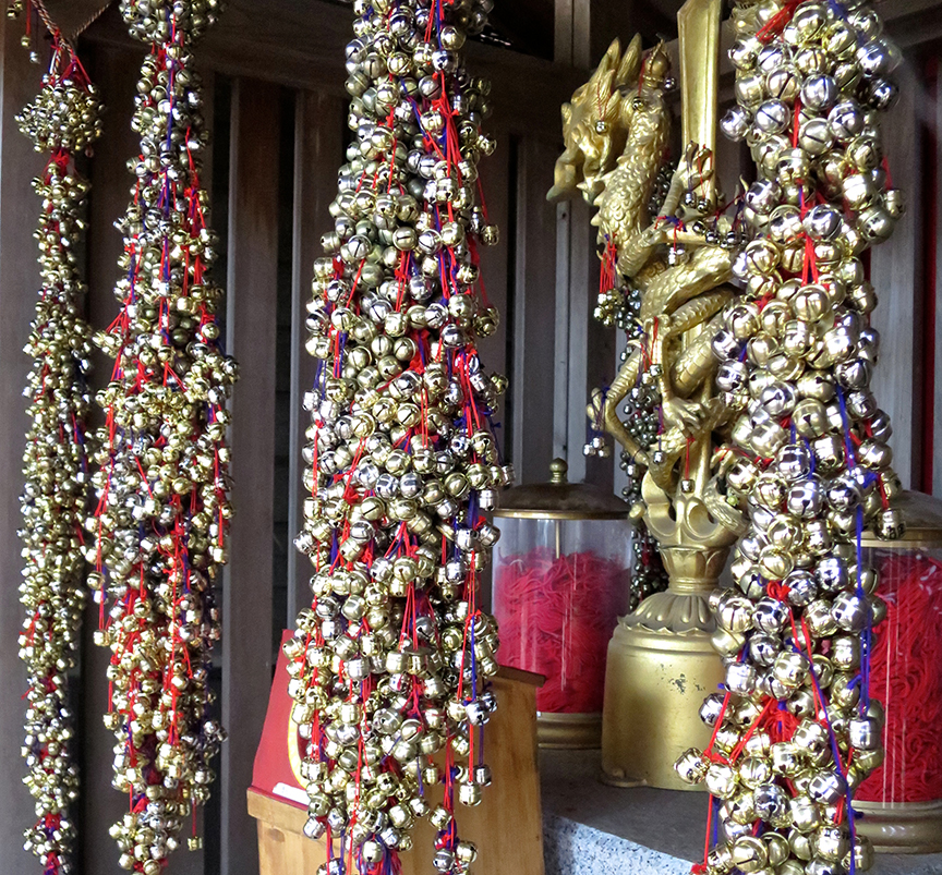 Make a wish at this sub-shrine if you want to discover your true love – the person connected to you by the red thread of destiny.