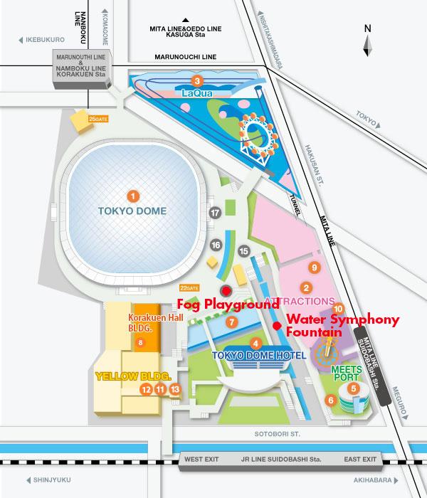 TokyoDomeMap