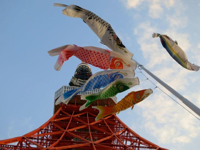 TokyoTowerKoi
