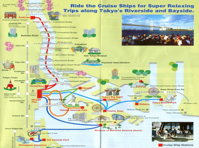Waterbus map