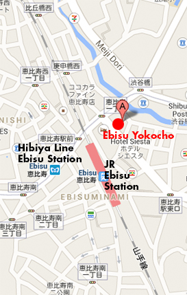 Ebisu Area Maps – The Tokyo they leave out of the guidebooks…