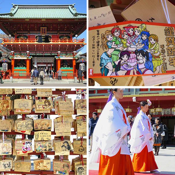 Akihabara's Kanda Myoujin shrine is where anime and manga artists go to pray for success.