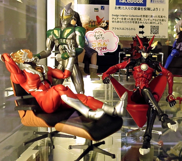 The Radio Kaikan building is filled with shops selling everything from the most obscure action figures to make-your-own dolls.