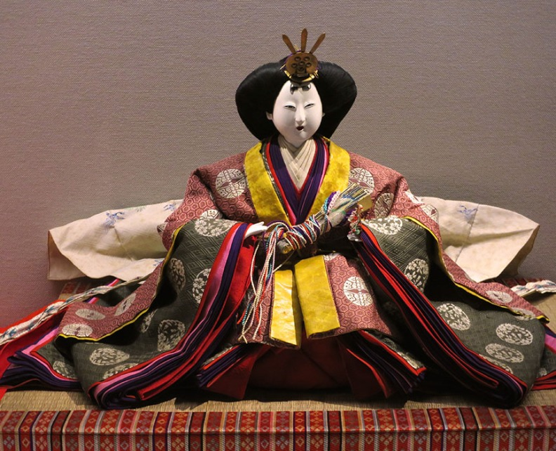These sacred dolls are also works of art, and some sets cost upwards of $10,000.