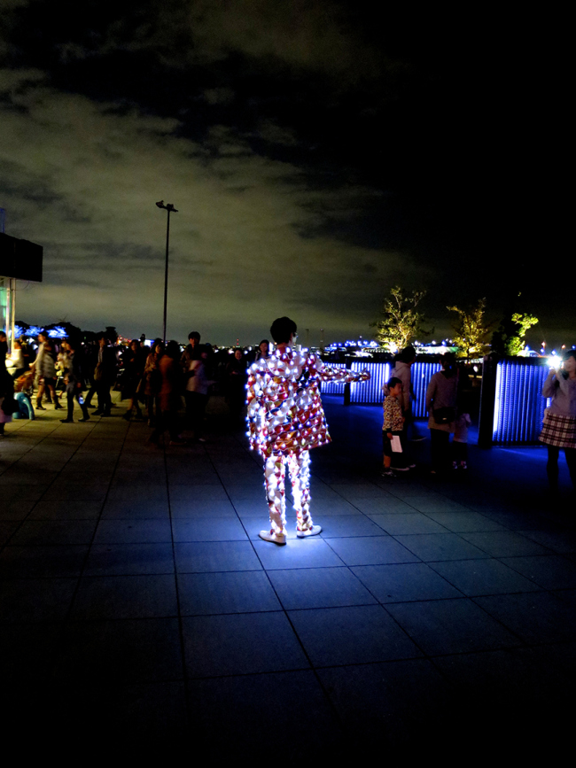 """At the spectacular """"Yokohama Smart Illuminations"""" event, art lights up the night in delightful and provocative ways."""