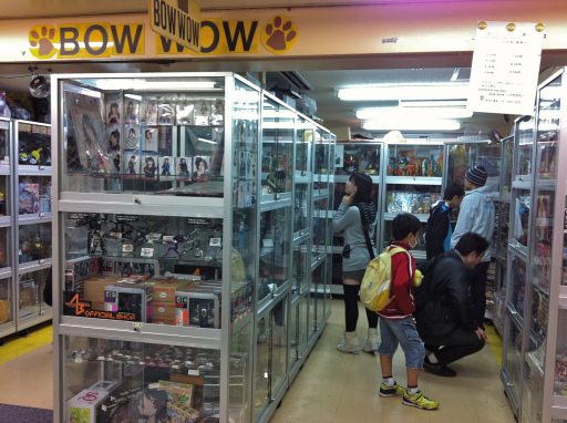 Locker shops – where collectors display their private goods for sale – are a fascinating slice of fan culture.