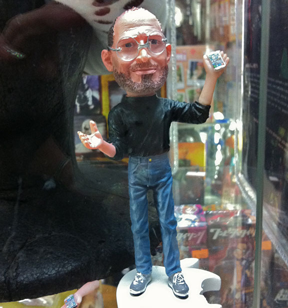 You can imaging just how diverse a selection of character goods are for sale here, by the fact that they even sell figures of Steve Jobs!