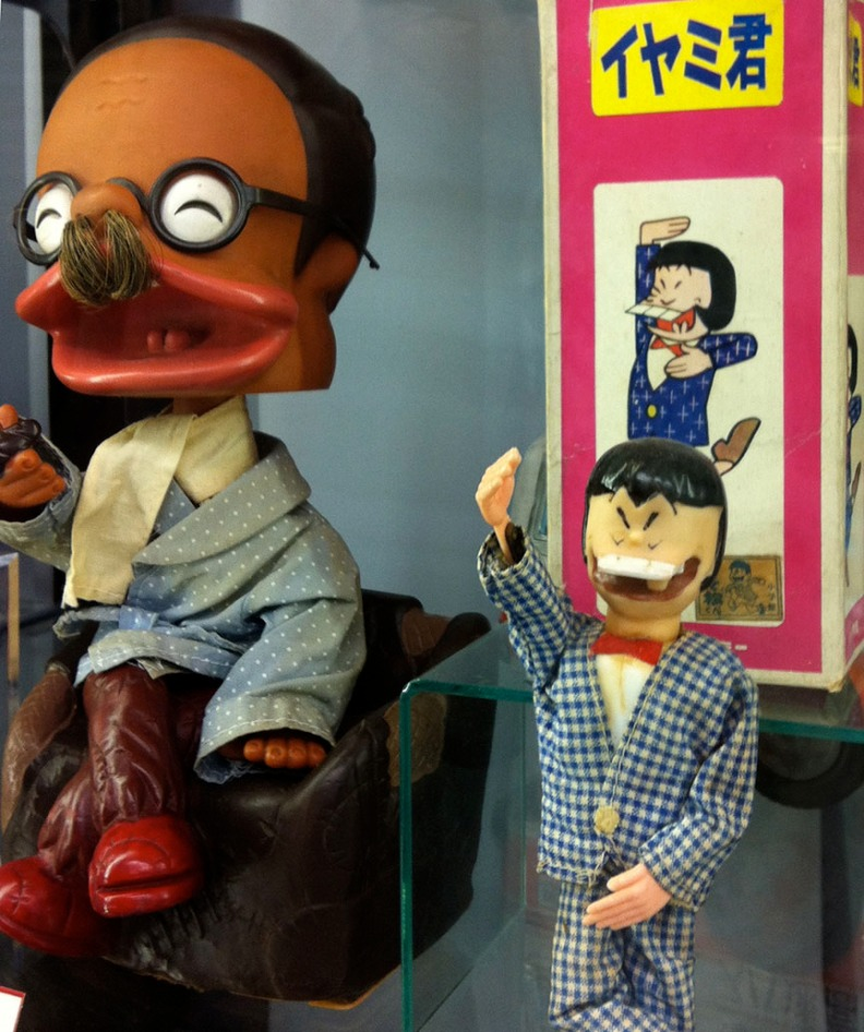 You can find vintage toys as well as obscure character figures at Nakano Broadway.