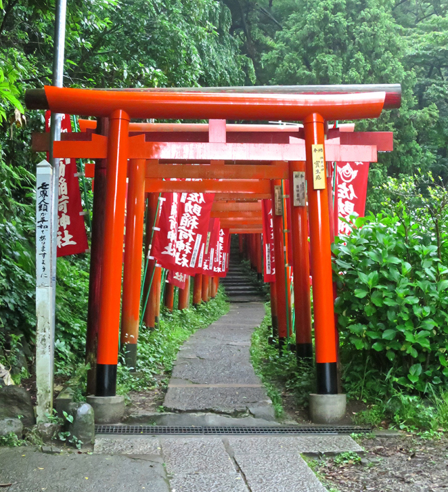 This lovely tunnel of orange torii is like a gateway to another world.