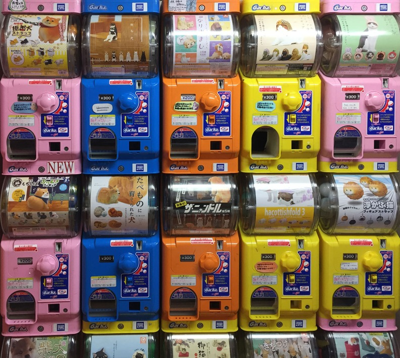 Gachapon hunt! Where to find the best capsule toy vending