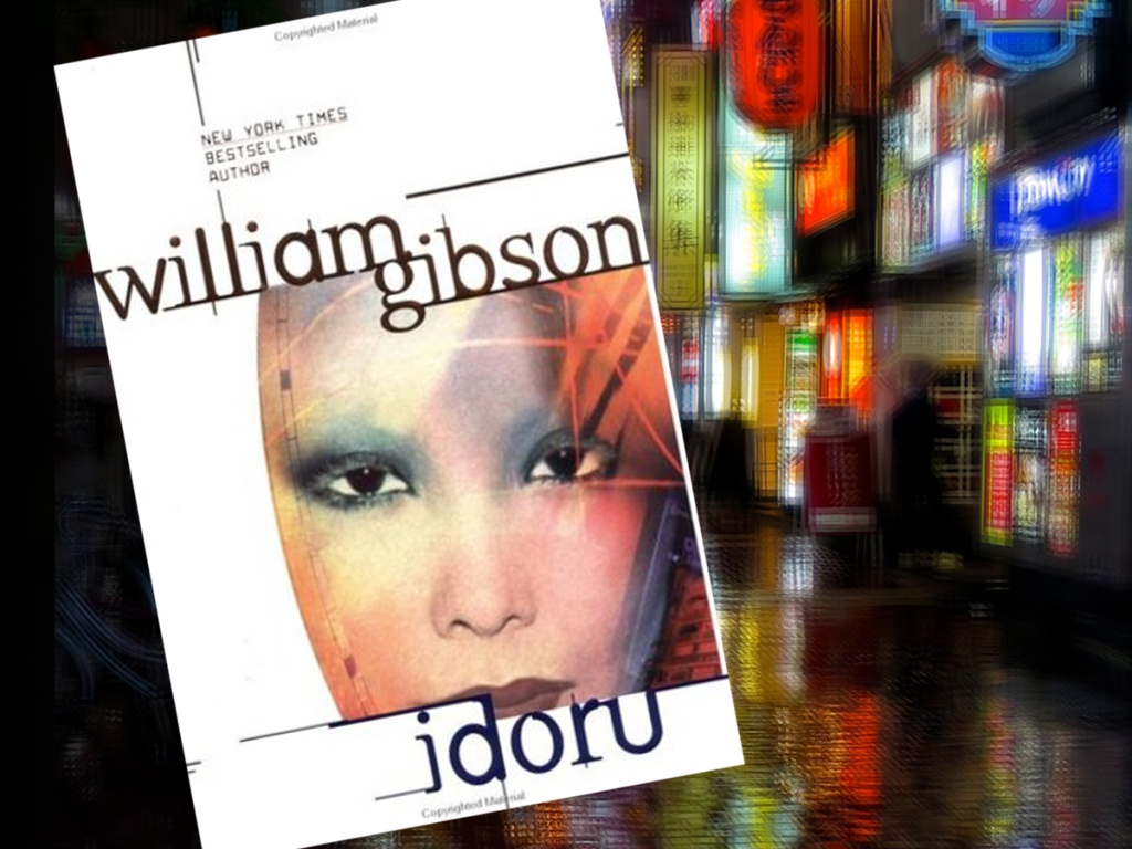 Cover of William Gibson's Idoru